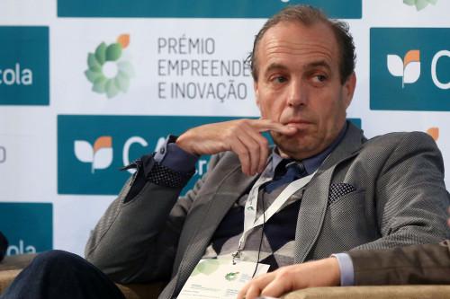 O Presidente da Portugal Fresh a falar.