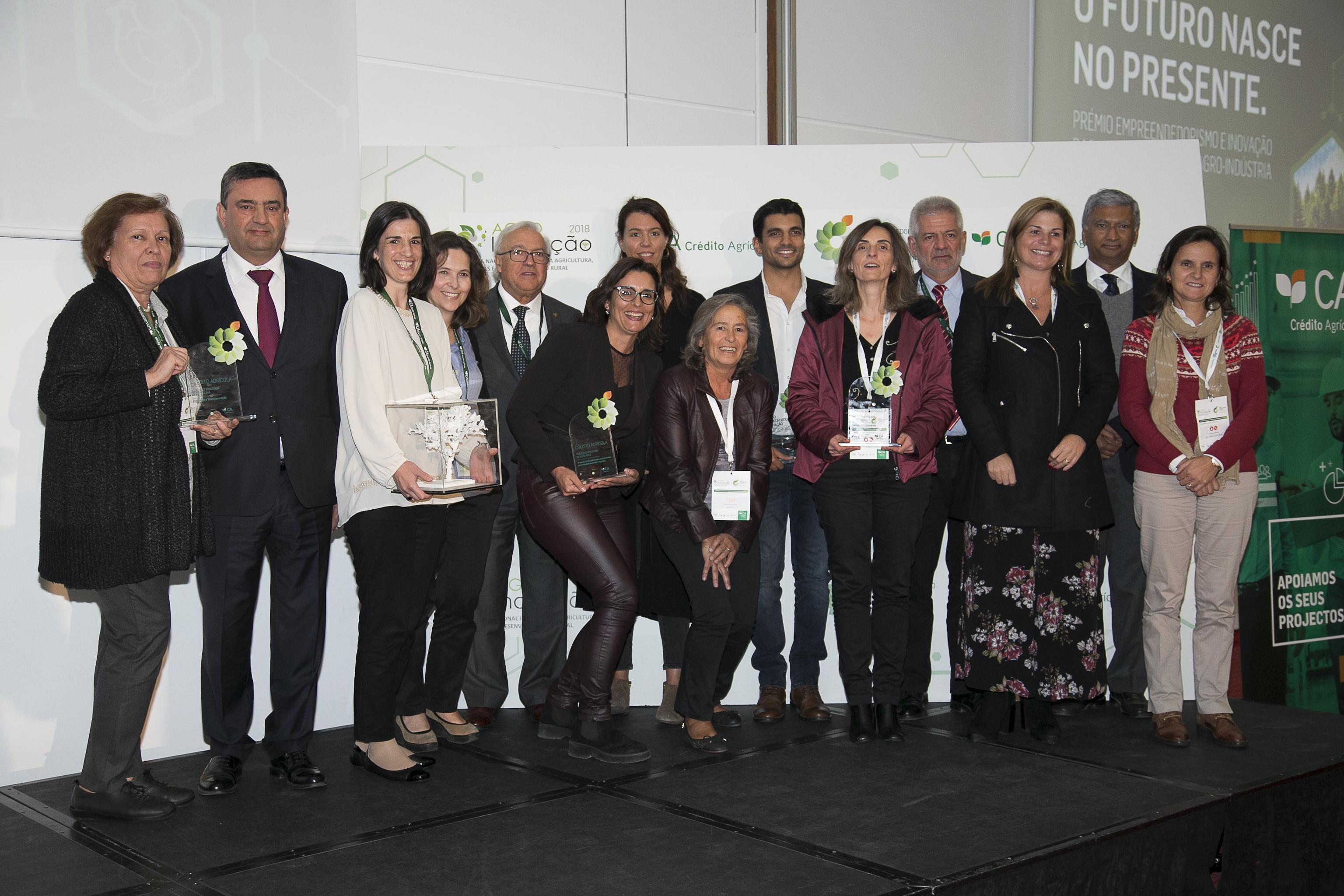 O grupo dos premiados